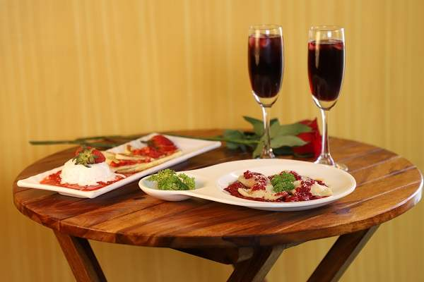 Valentines Special Food Is Symbolic Of Love When Words Are