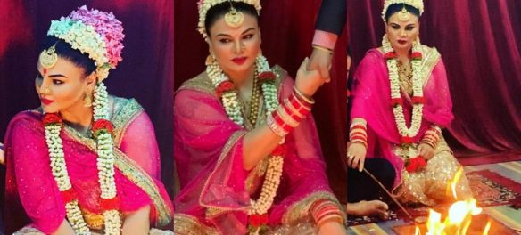 Rakhi Sawant Finally Shares Her Wedding Pictures With Her Husband, Ritesh; Deletes It Quickly