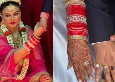 Rakhi Sawant's First Wedding Pics With Hubby Ritesh Which She Doesn't Want You To See