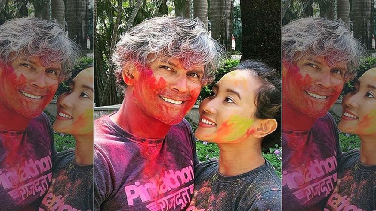 Milind Soman's Wife, Ankita Bashed A News Agency For Publishing