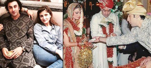 Throwback Pictures Of Rishi, Neetu And Ranbir Kapoor In Riddhima And Bharat's Wedding