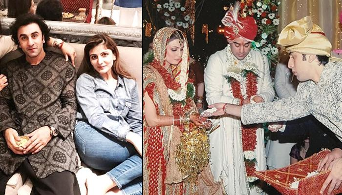 Throwback Pictures Of Rishi, Neetu And Ranbir Kapoor In Riddhima And Bharat's Wedding