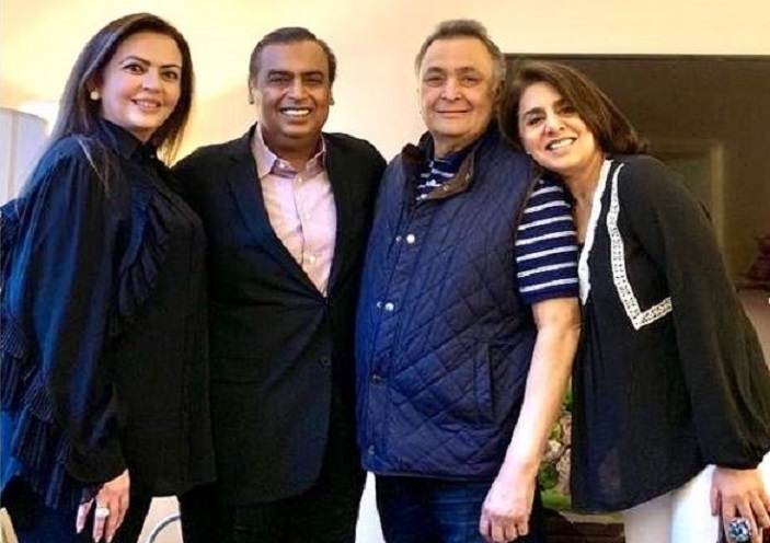 """Rishi Kapoor Demise: Neetu Kapoor Thanks Ambani Family For Their Support, Says, """"You Have Been Our Guardian Angels"""""""