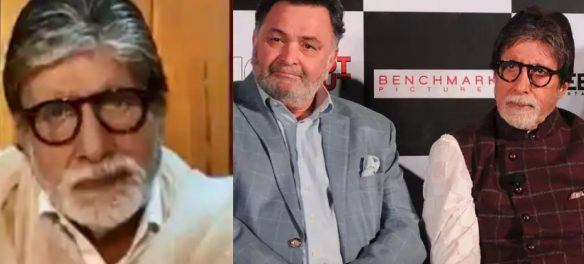 I For India: Big B Breaks Down Remembering Rishi Kapoor, 'Never Met Him In Hospital, Didn't Want To See Distress On His Face'