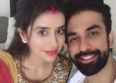 Charu Asopa and Rajeev Sen