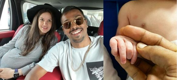 Hardik Pandya and Natasha Stankovic blessed with a baby boy