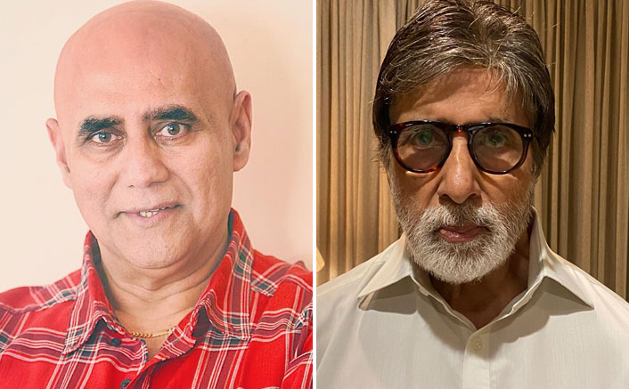 Puneet Issar and Amitabh Bachchan