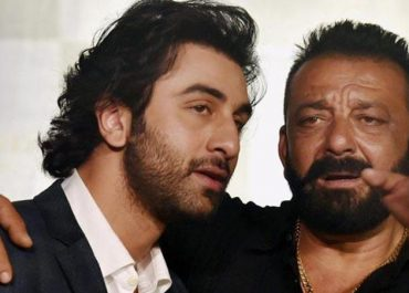 Ranbir Kapoor and Sanjay Dutt