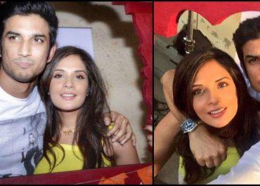 Richa Chadha and Sushant Singh Rajput