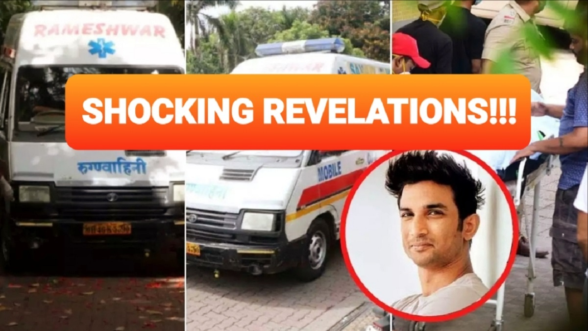Sushant Singh Rajput's Ambulance Attendant Says He Had Marks On His Legs And Make Other Eye-Opening Revelations –