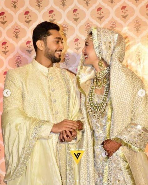 Zaid Darbar and Gauahar Khan