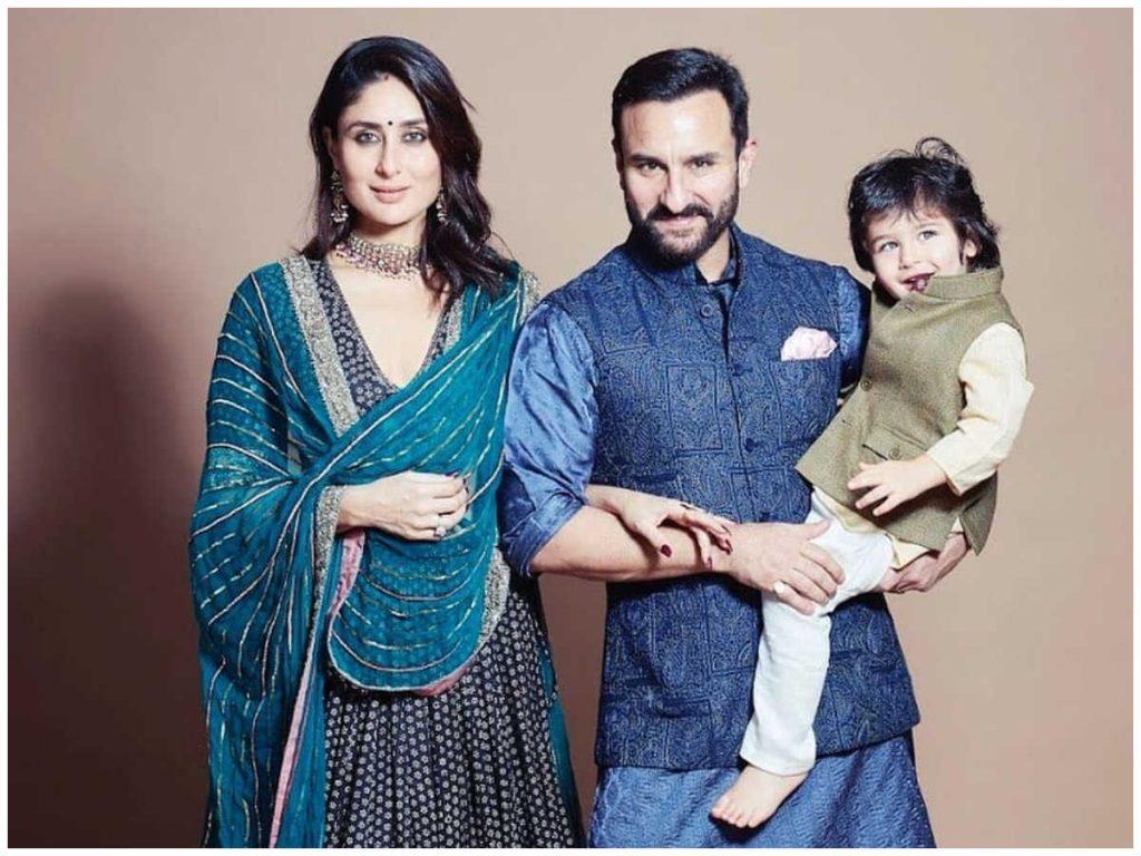 Kareena Kapoor and Taimur Ali Khan