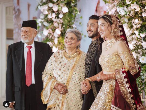 Gauahar Khan father